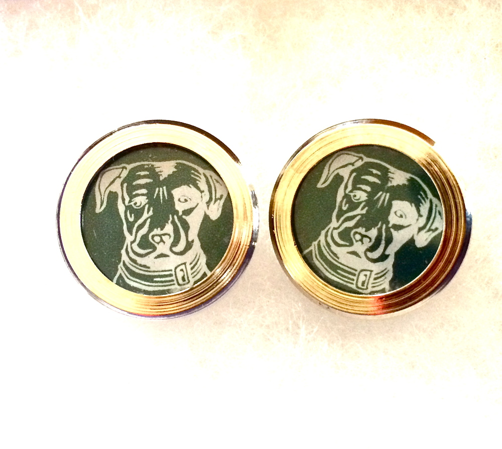 Green Beer Cap Cufflinks Lagunitas.JPG