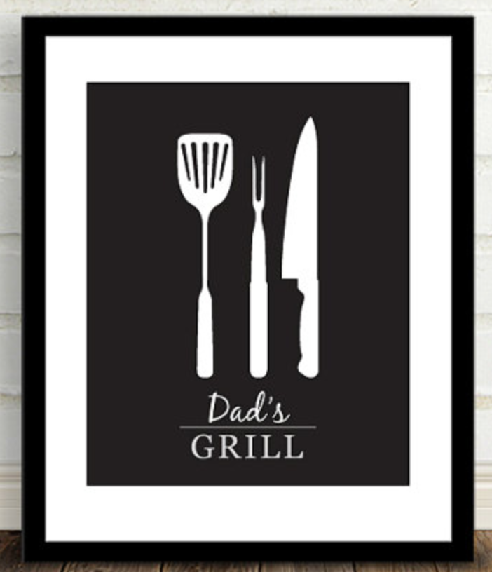 Grill Fathers Day Gift