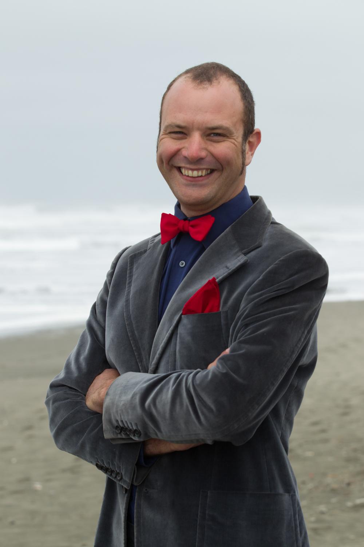 Elegant bow tie and pocket square