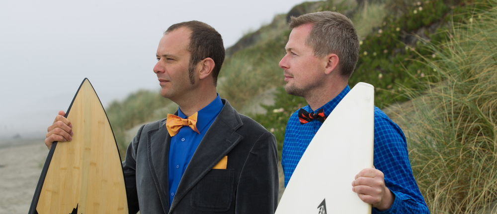 Surfing in Bow Ties