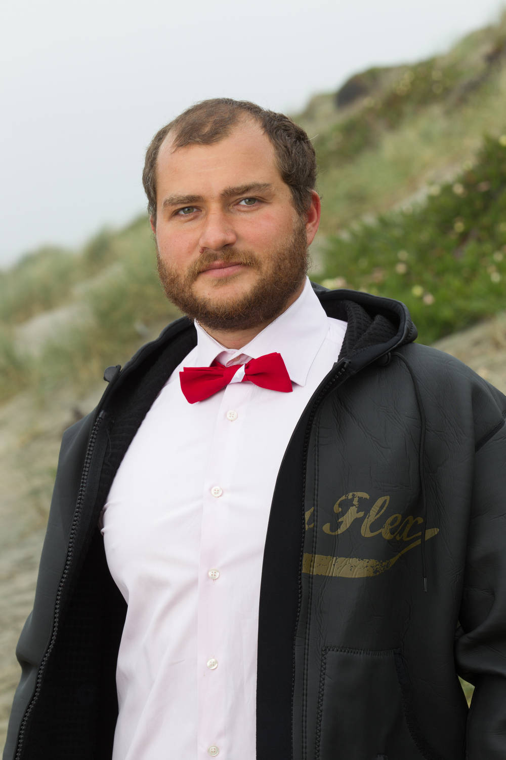 Diver Down Flag Bow Tie in the California Dapper Bow Tie Collection