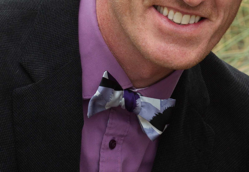 Geometric patterns to compliment a dapper blazer