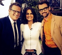 Los Angeles Live Coverage  The Oscars 2014.   Today Show Australia, Channel Nine.  Henry Roth, Lisa Wilkinson, Brad Goreski.
