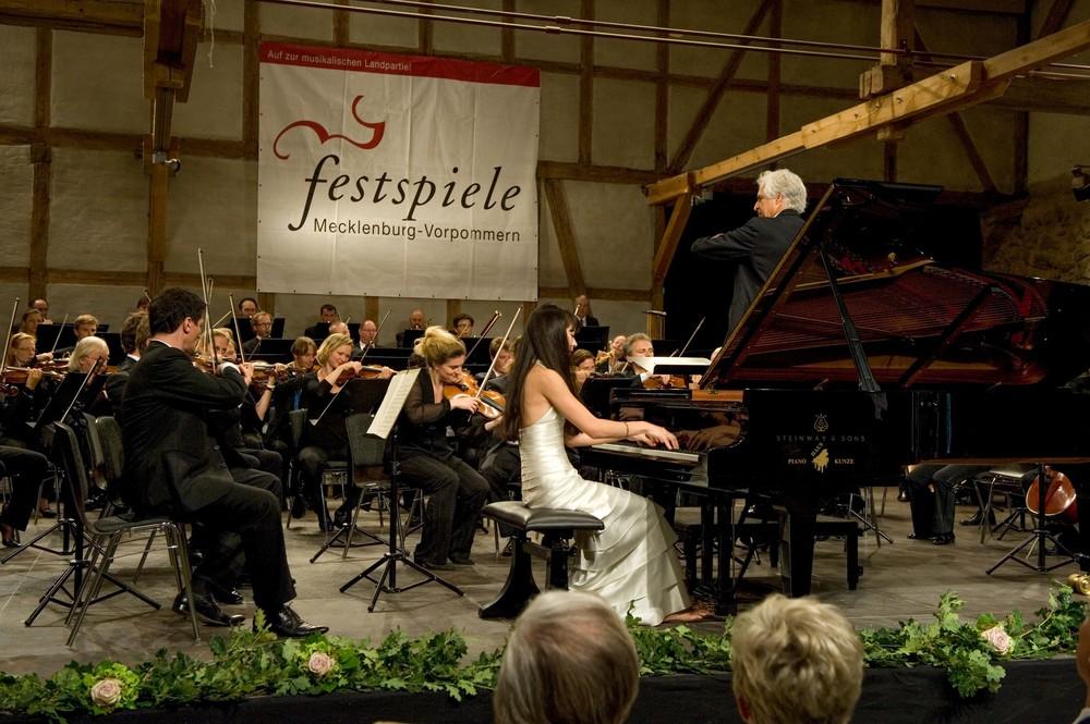 Konzert in der Festspielscheune Ulrichshusen © Monika Lawrenz