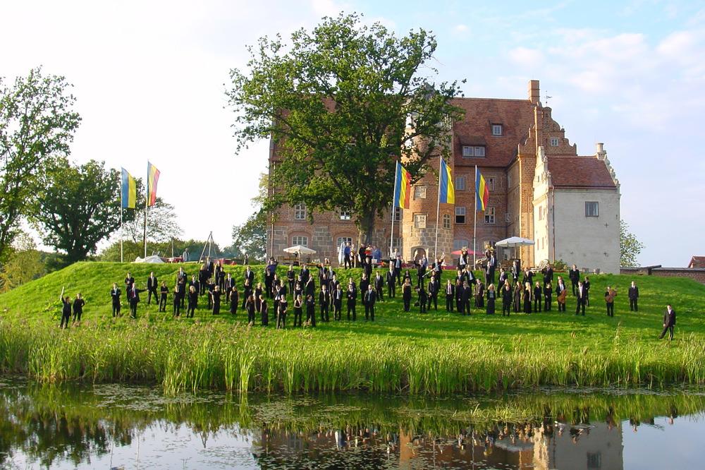 Das Herzstück der Festspiele MV ist das Schloss Ulrichshusen © FMV