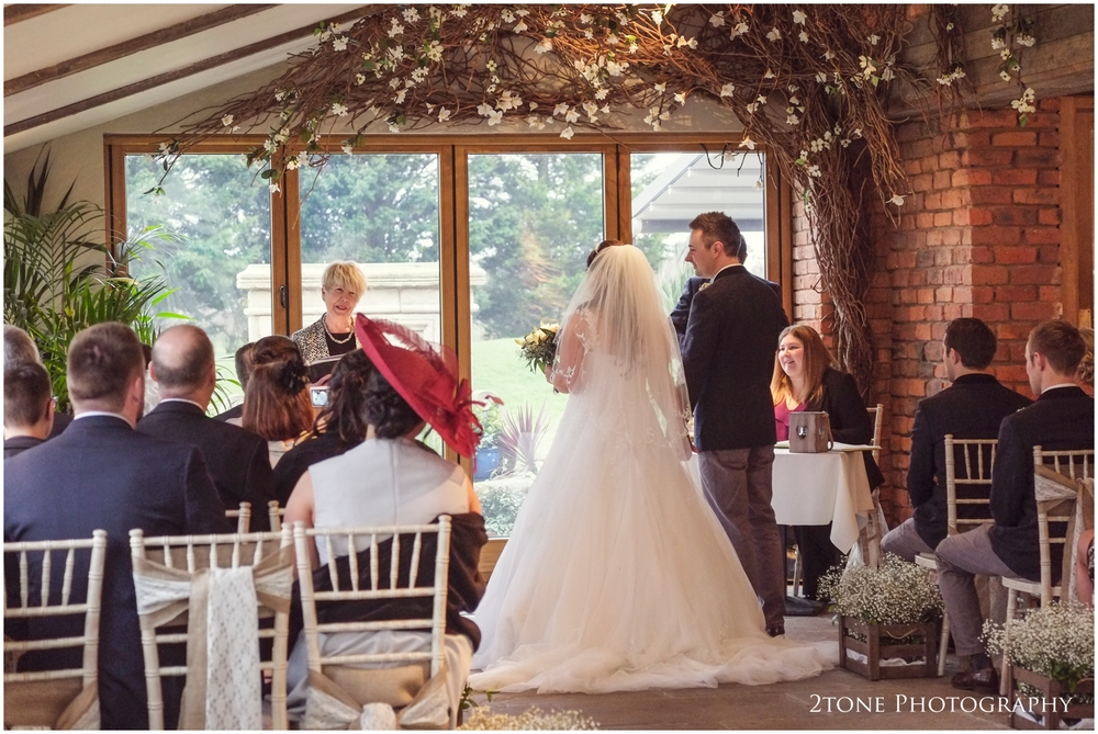 Newton Hall wedding