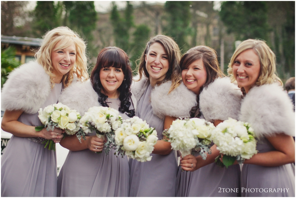 Bridesmaids at Jesmond Dene House Hotel