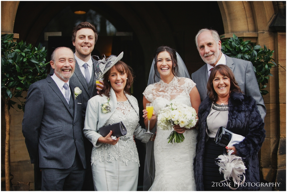 winter wedding in Jesmond Dene House Hotel