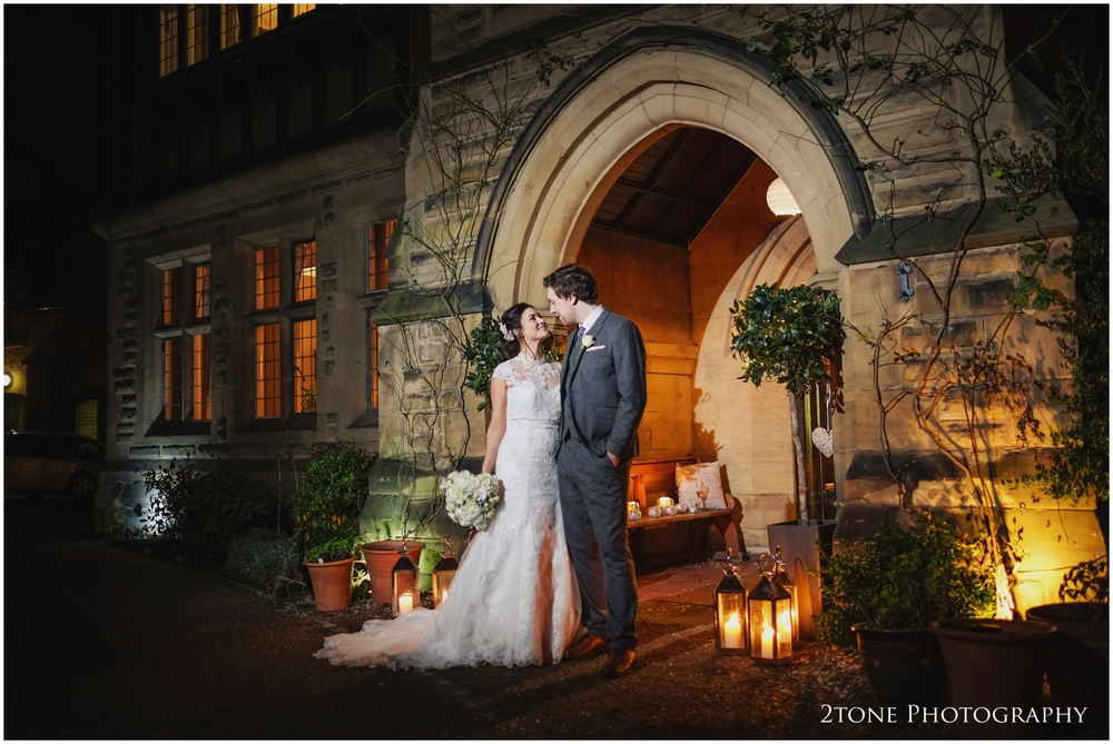 Contemporary wedding photography at Jesmond Dene