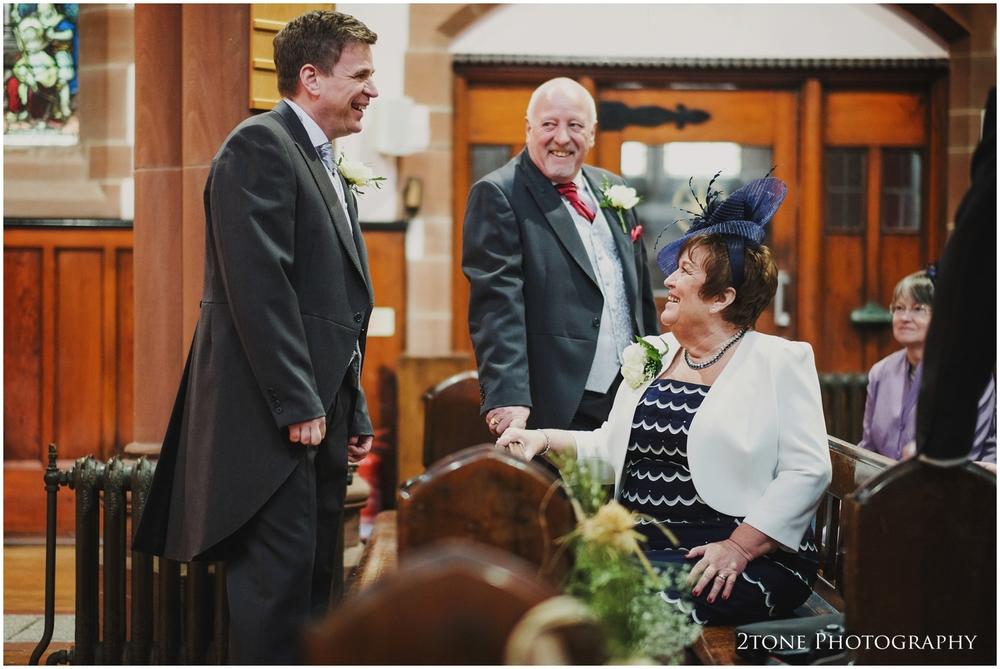 Church wedding photography