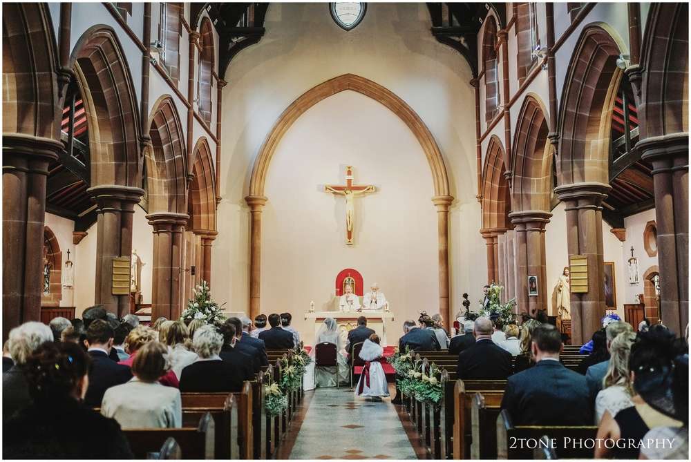 St Hilda's R.C Church, Southwick, Sunderland wedding photography