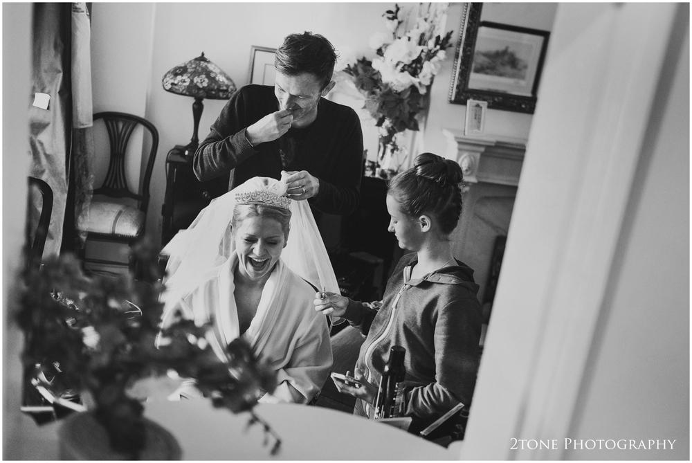 Bridal preparations wedding photography