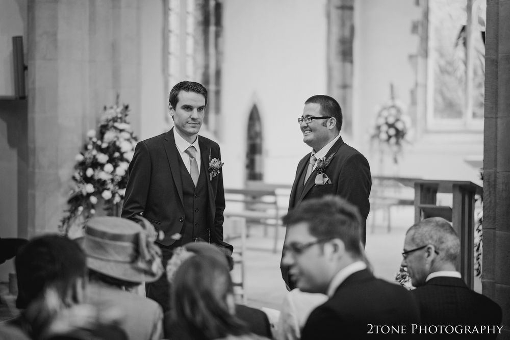 Wedding photography at St Brandon's Church, Brancepeth