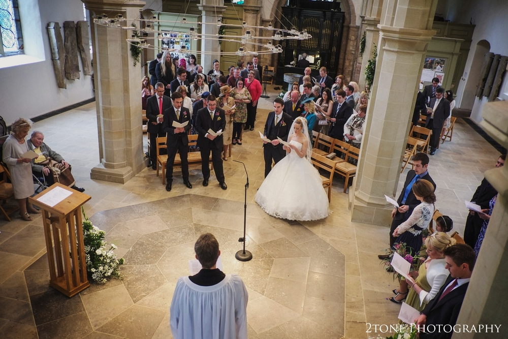 Wedding Photography in St Brandon's Church