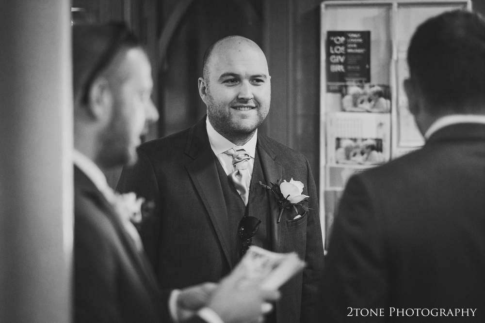 Groomsmen at church www.2tonephotography.co.uk