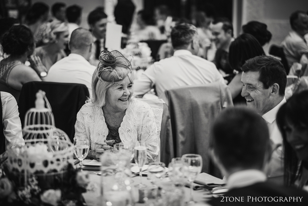 wedding guests during the meal www.2tonephotography.co.uk
