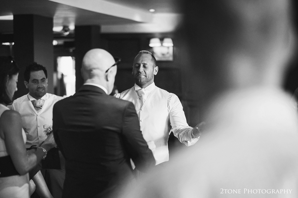 Grooms getting ready.  Wedding photography by www.2tonephotography.co.uk