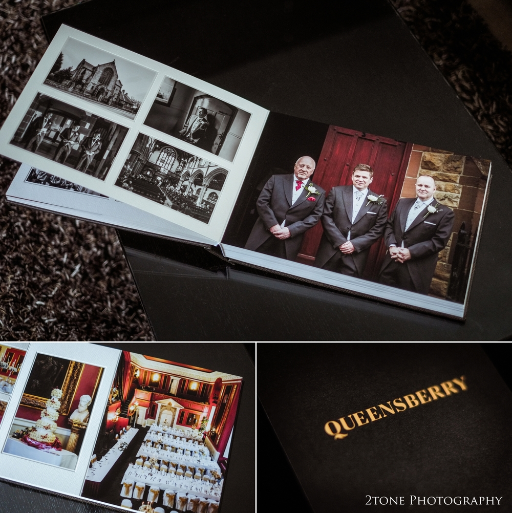 Queensberry wedding album duo