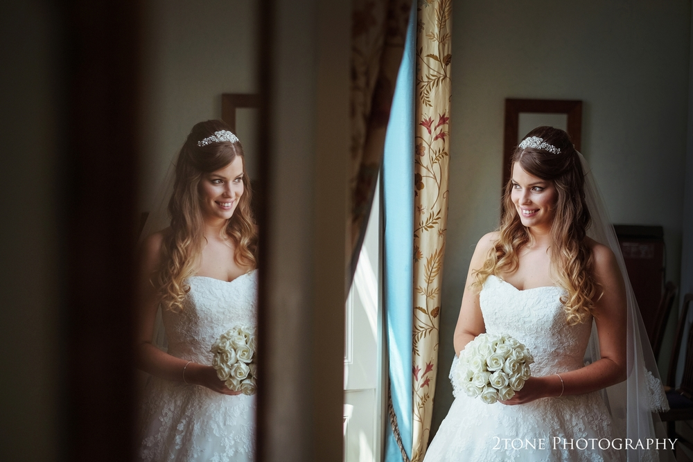 A simple but creative portrait of our stunning bride Sonia.