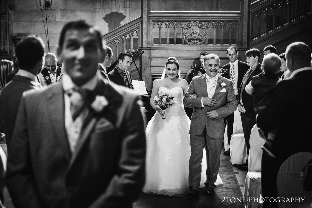 Wedding ceremony at Matfen Hall.  Matfen Hall wedding photography by award winning durham wedding photographer www.2tonephotography.co.uk