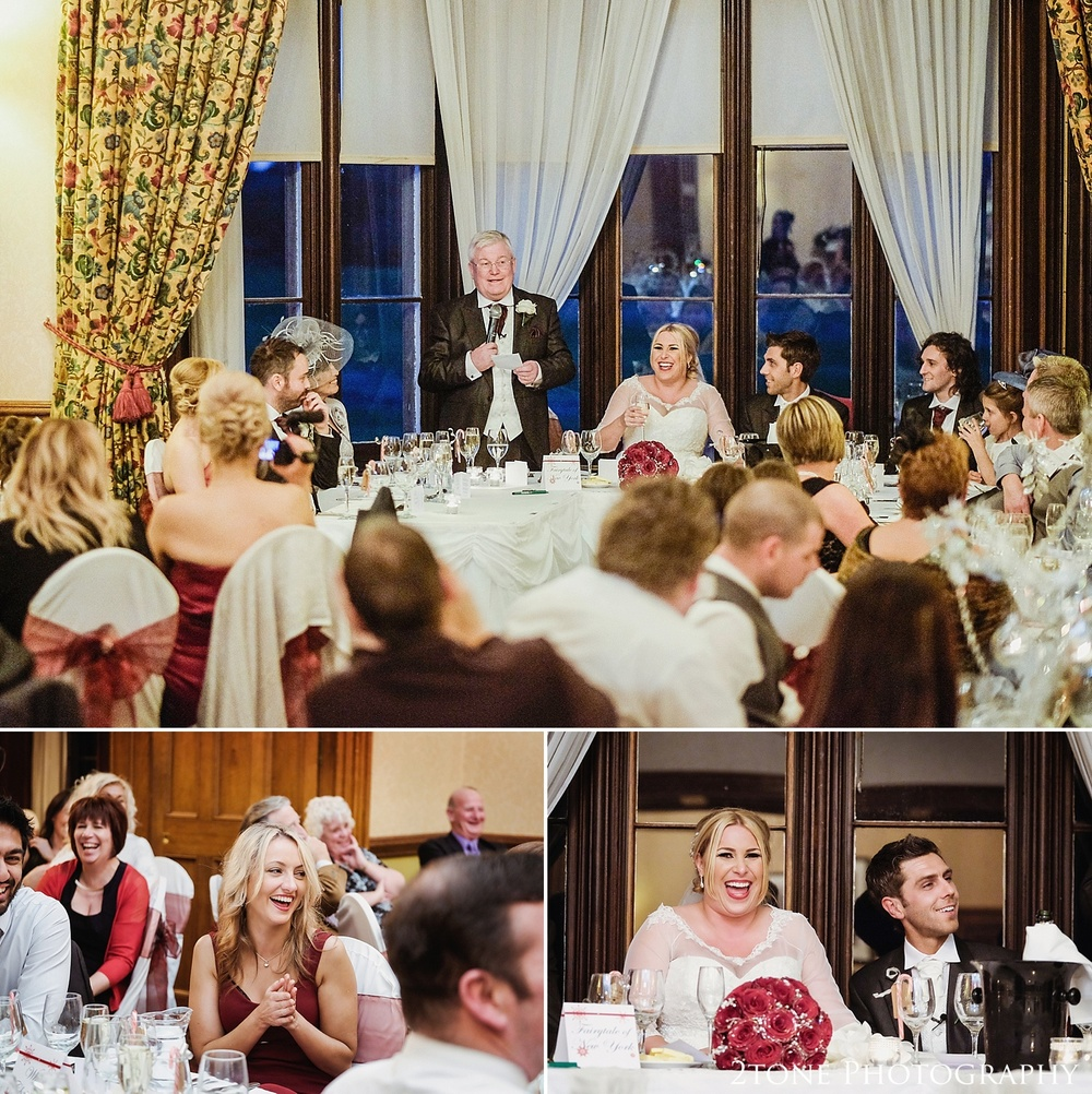 Christmas Wedding Photography at Matfen Hall by www.2tonephotography.co.uk