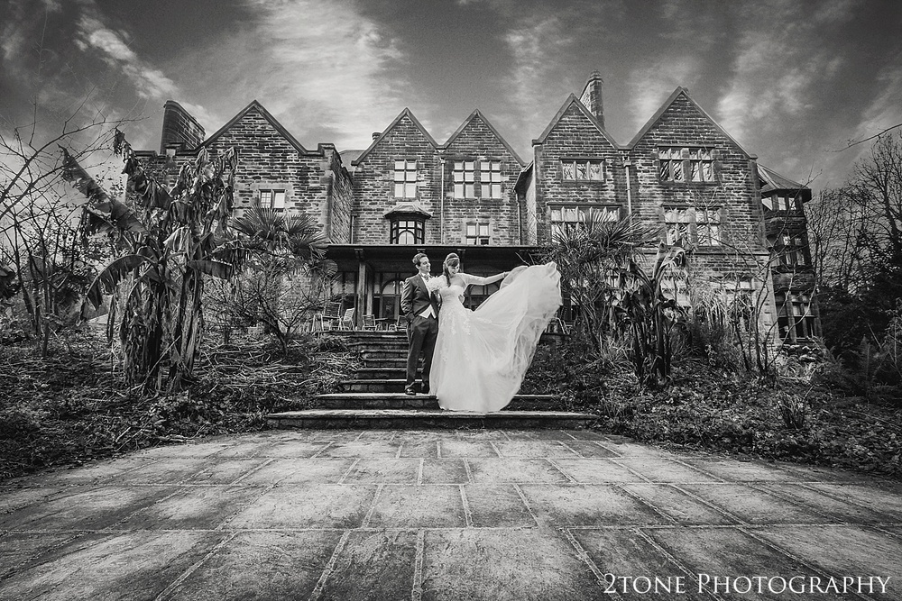 Christmas Wedding photography at Jesmond Dene house by wedding photographer www.2tonephotography.co.uk