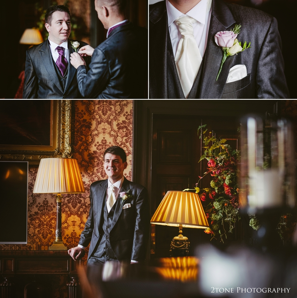 The groom, Wynyard Hall wedding Photography by durham wedding photographers www.2tonephotography.co.uk