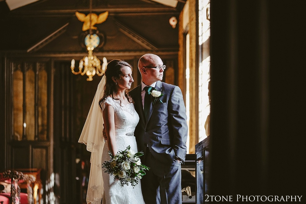 Wedding couple.  Durham Castle wedding Photography by Durham and Newcastle wedding photographer www.2tonephotography.co.uk