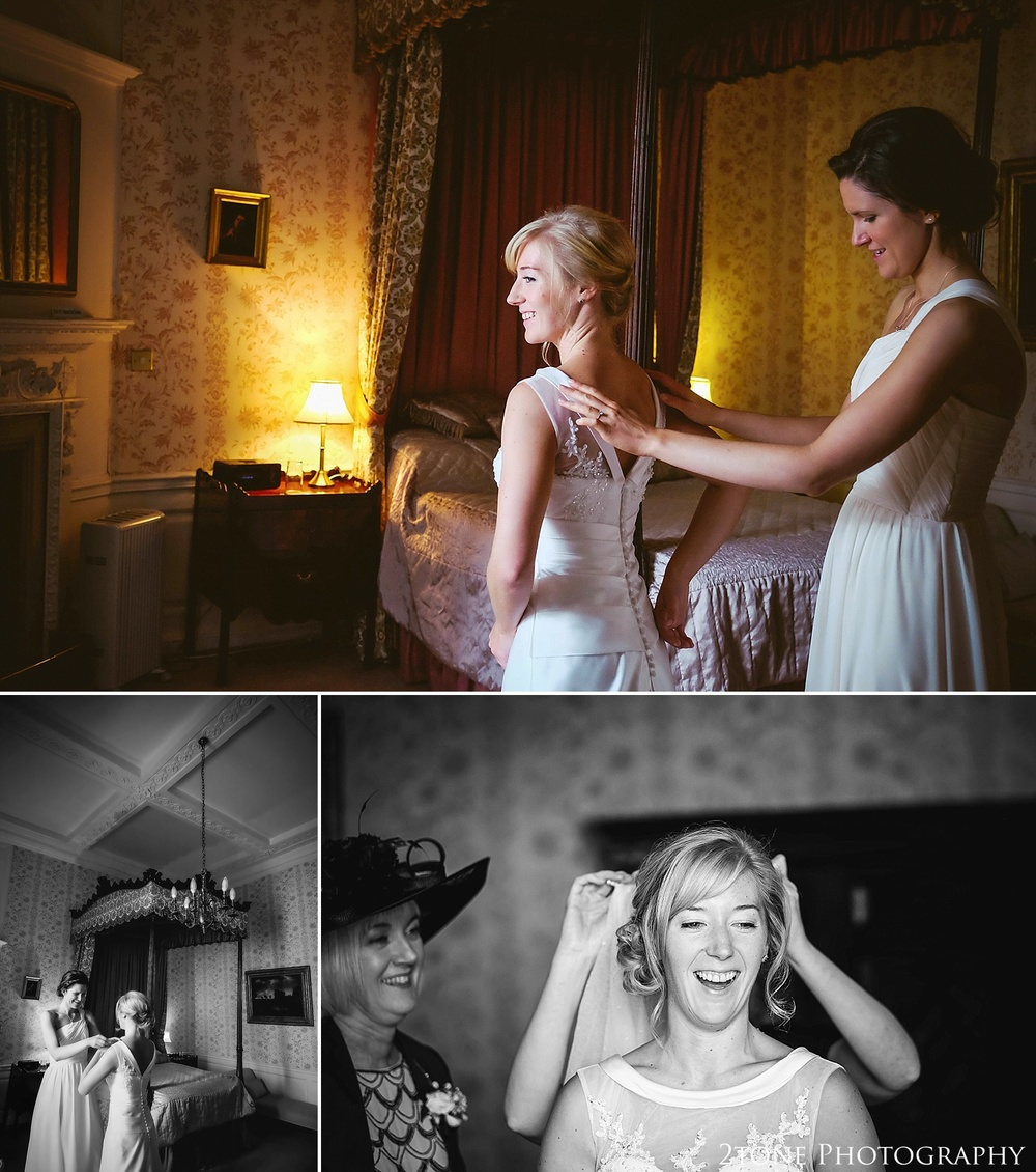 Wedding Preparations.  Durham Wedding Photography by www.2tonephotography.co.uk