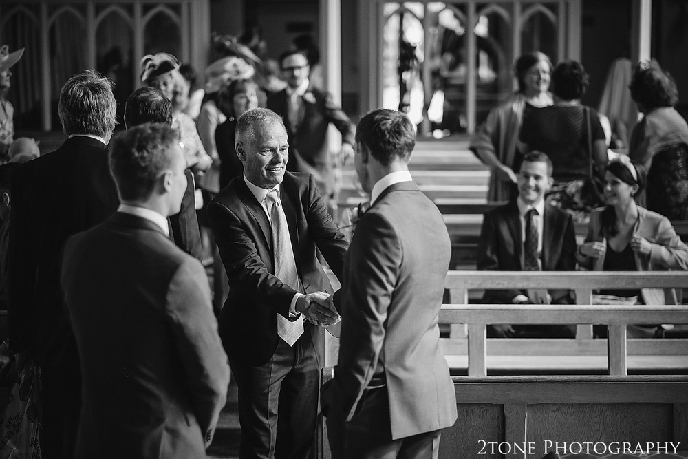 St Cuthbert's Catholic Church, Durham.  Durham Wedding Photography by www.2tonephotography.co.uk