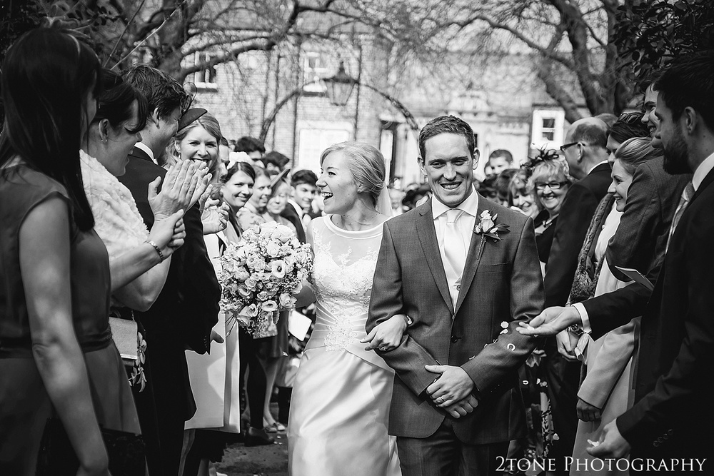 Wedding Confetti.  Durham wedding photography by wedding photographers www.2tonephotography.co.uk