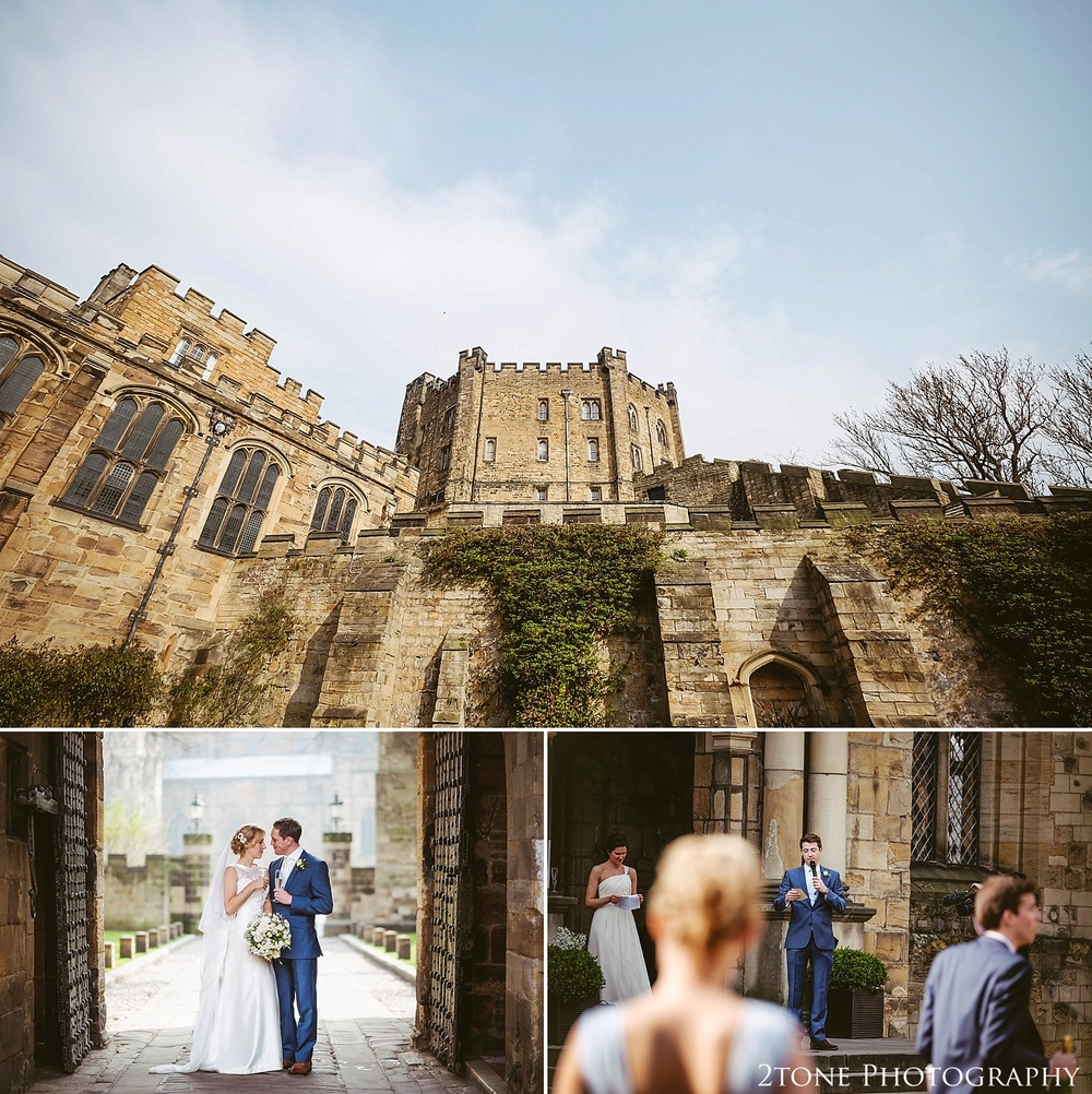 Durham Castle wedding.  Durham wedding photography by wedding photographers www.2tonephotography.co.uk