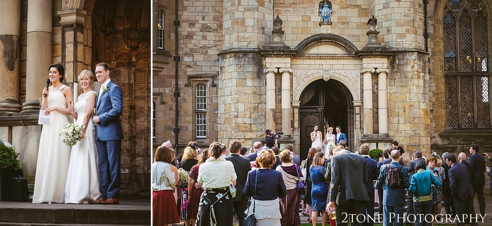 Wedding Photography at Durham Castle.  Durham wedding photography by wedding photographers www.2tonephotography.co.uk