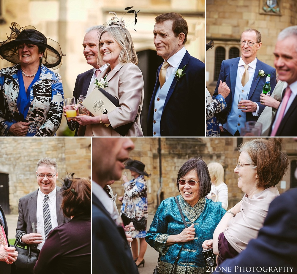 Weddings at Durham Castle.  Durham wedding photography by wedding photographers www.2tonephotography.co.uk
