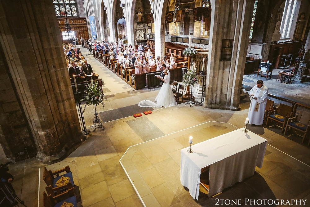 Newcastle Cathedral.  Newcastle and Beamish Hall Wedding Photography by www.2tonephotography.co.uk