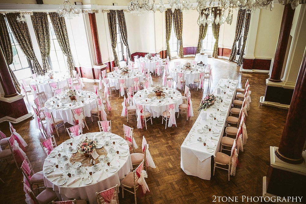 Monboucher Suite in Beamish Hall.  Newcastle and Beamish Hall Wedding Photography by www.2tonephotography.co.uk