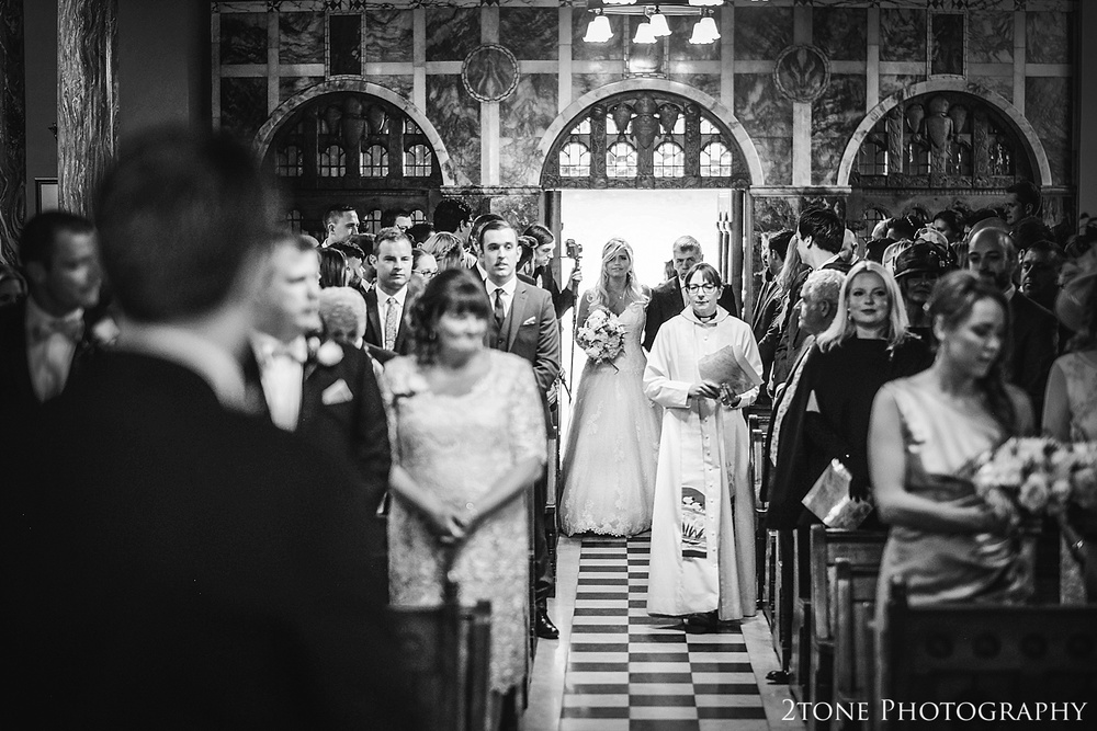 Arrival of the Bride.  Wynyard Hall wedding photography by www.2tonephotography.co.uk