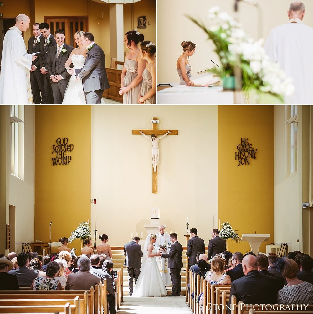 Documentary wedding photography at St Cuthberts Seaham wedding photography by www.2tonephotography.co.uk