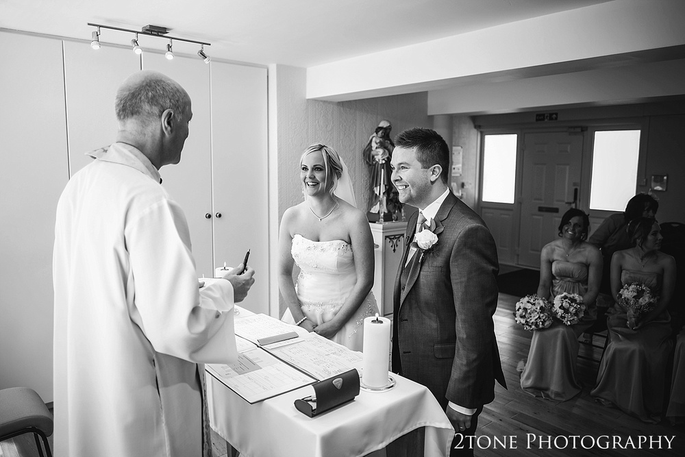 Documentary weddings at St Cuthberts Seaham wedding photography by www.2tonephotography.co.uk