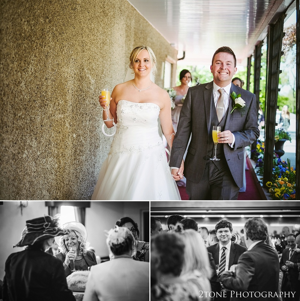 Wedding photography at the Ramside Hall Hotel.  Wedding photography by husband and wife team www.2tonephotography.co.uk