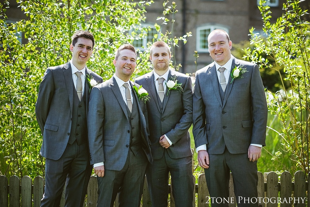 The Guys at the Ramside Hall Hotel.  Wedding photography by husband and wife team www.2tonephotography.co.uk