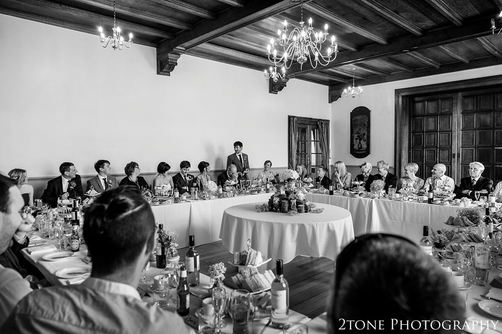Wedding speech at Kirkley Hall