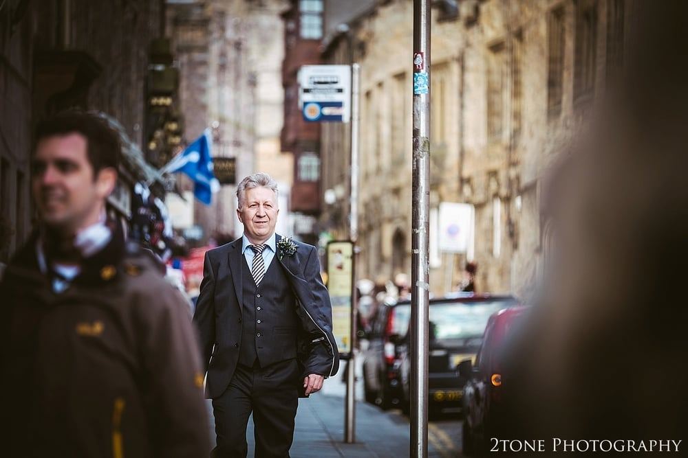 The Royal Mile wedding by 2tone Photography