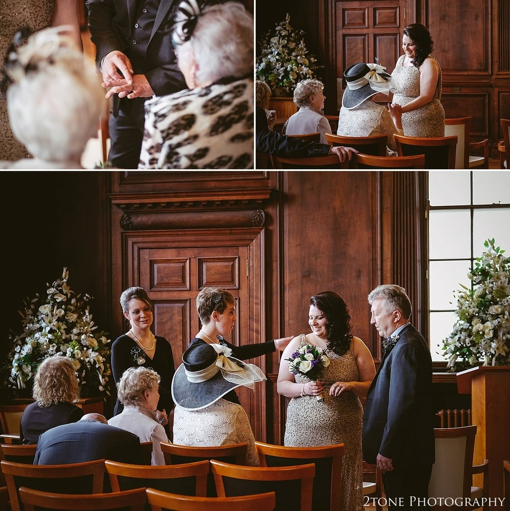 Wedding Photography in Scotland.  Wedding Photography at the Lothian Chambers in Edinburgh by 2tone Photography