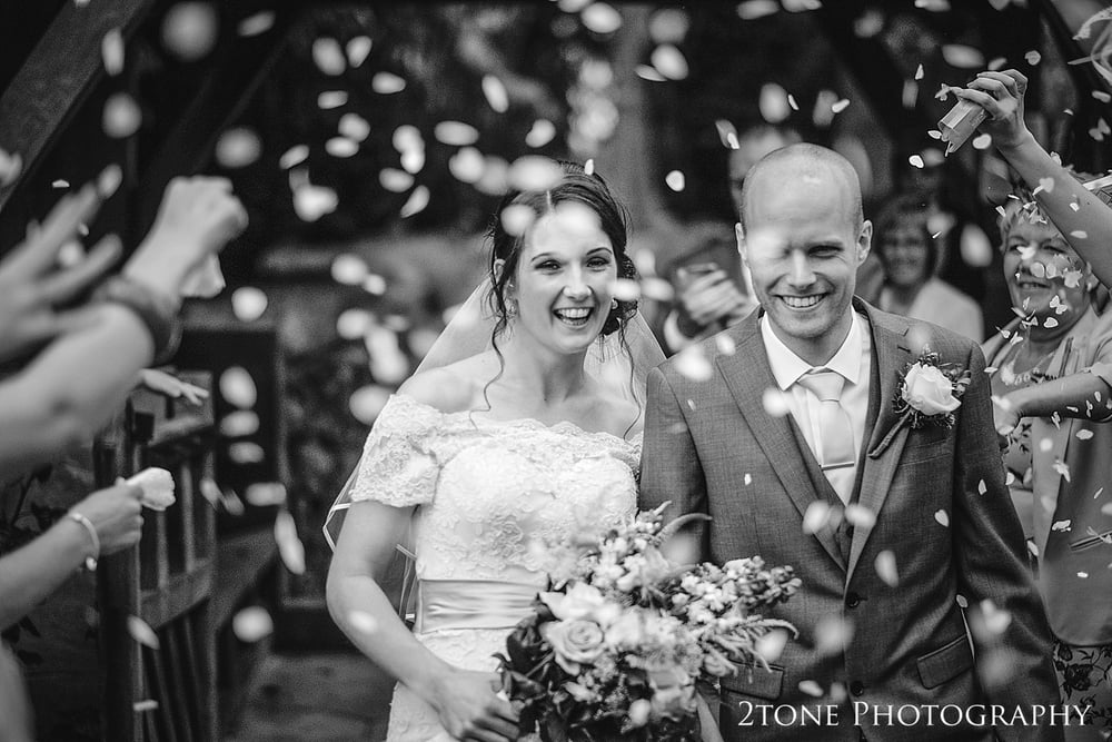 Natural wedding photography in St Oswin's Church in Newton Under Roseberry by 2tone photography www.2tonephotograpy.co.uk