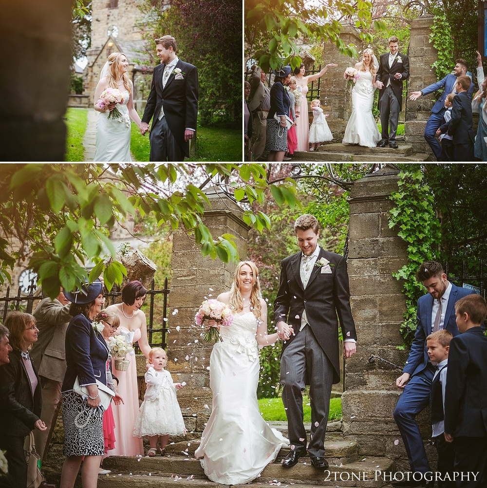 Wedding confetti by www.2tonephotograhy.co.uk