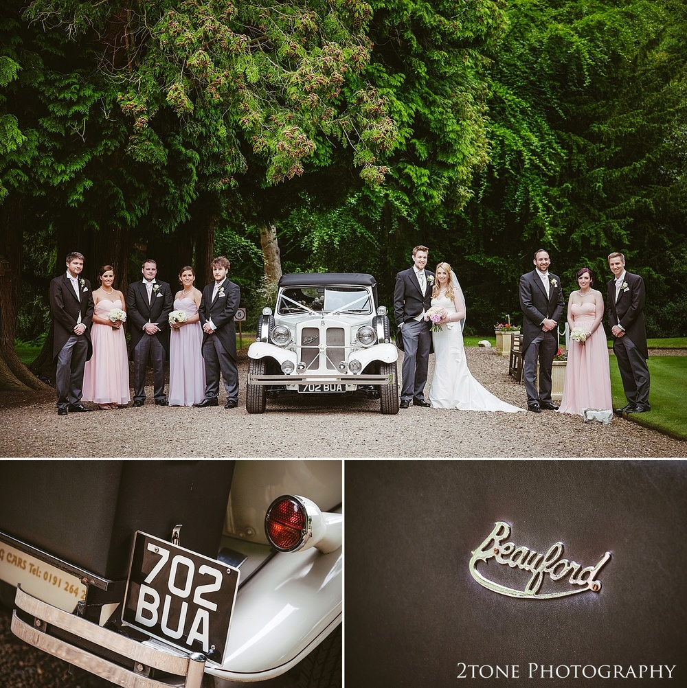 A wedding at Eshott Hall by www.2tonephotograhy.co.uk