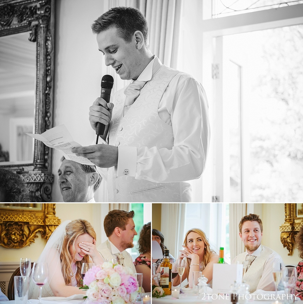 Best man's speech Eshott Hall by www.2tonephotograhy.co.uk