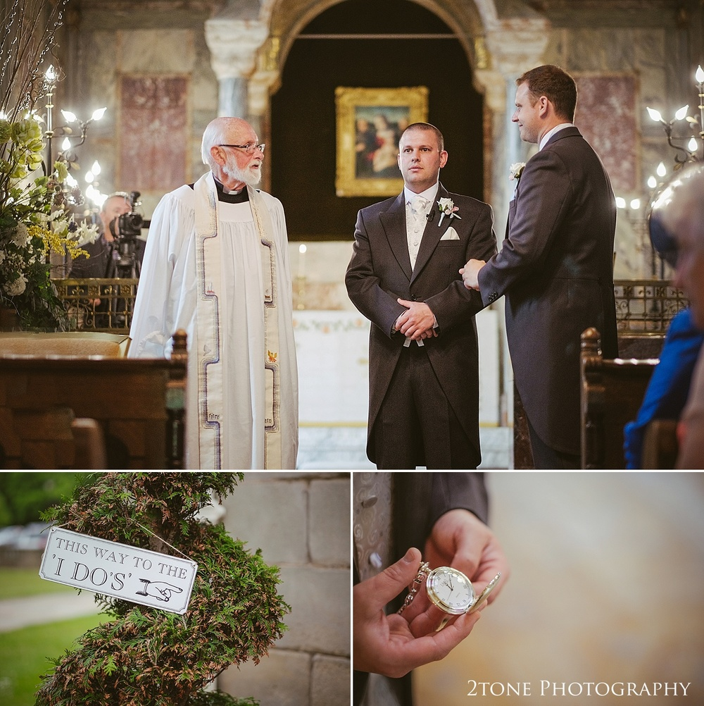 A chapel wedding.  Wedding Photography at Wynyard Hall by 2tone Photography www.2tonephotography.co.uk