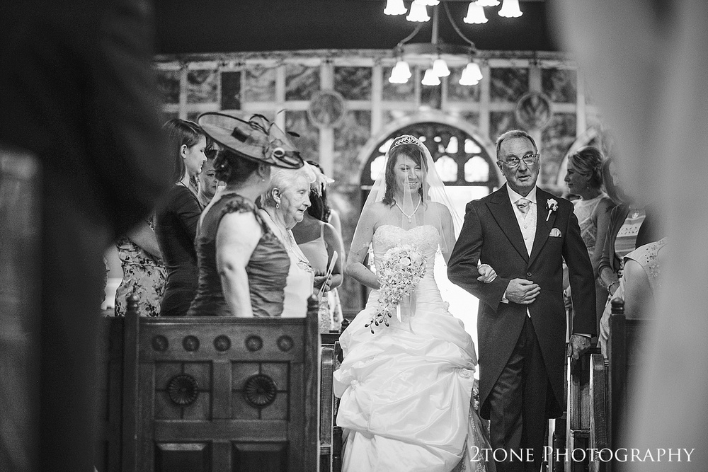 A wedding in Wynyard Hall Chapel.  Wedding Photography at Wynyard Hall by 2tone Photography www.2tonephotography.co.uk